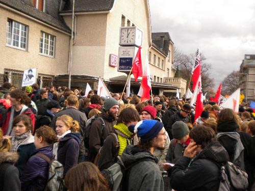 5.000 Teilnehmer bei bundesweitem Bildungsprotest in Bad Godesberg