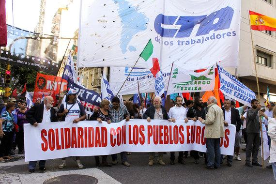 Erster Generalstreik unter Regierung Cristina Kirchner in Argentinien