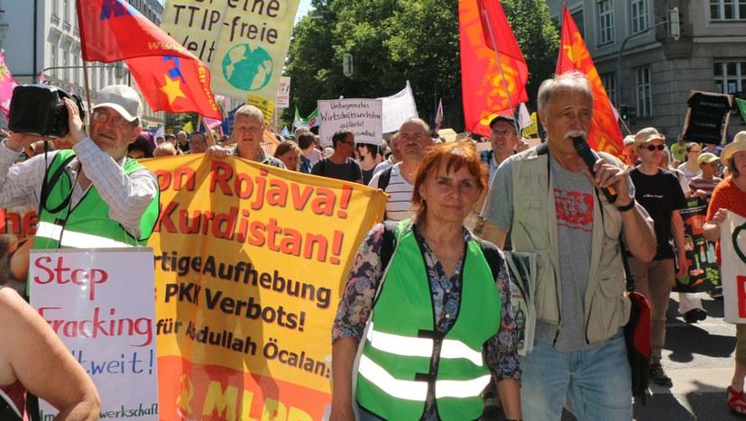 MLPD unterstützt G20-Proteste