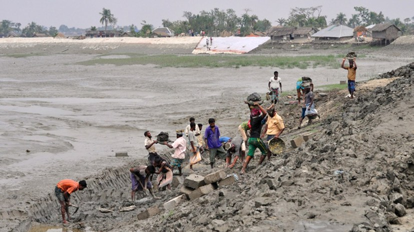Monsun 2017 - Umweltkatastrophe in Südasien
