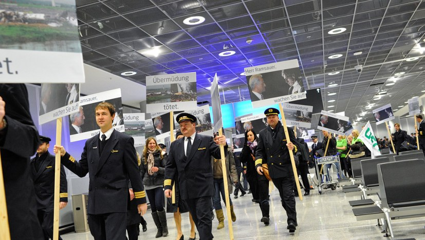 """Cockpit: """"Die Lage der Piloten bei Air Berlin ist verzweifelt"""""""