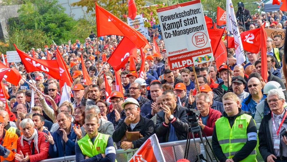 Gewerkschaften als Kampforganisationen statt als Co-Manager sind gefragt (rf-foto)