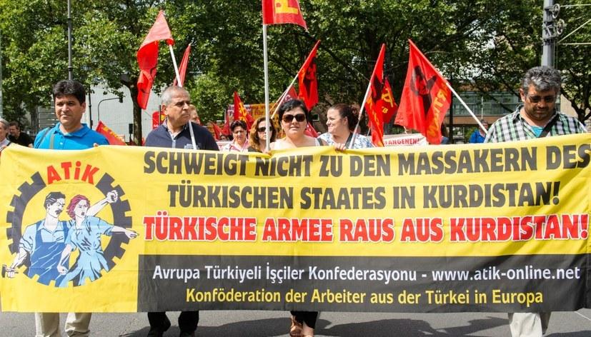 Demonstration für Freilassung von Abdullah Öcalan