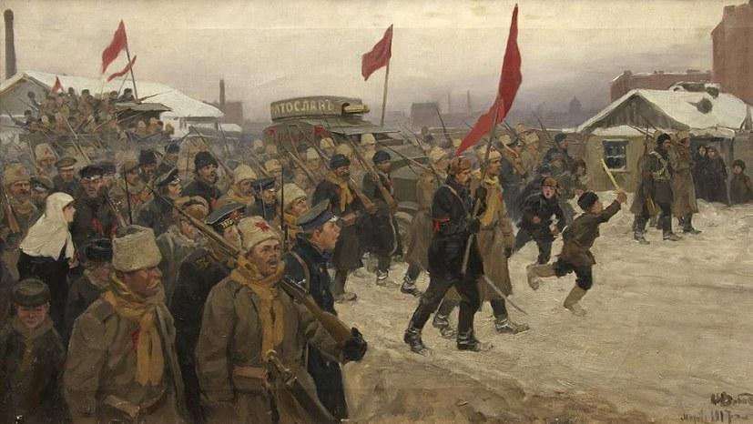 Ausstellung: 100 Jahre Oktoberrevolution - im Spiegel von Buch und Bild