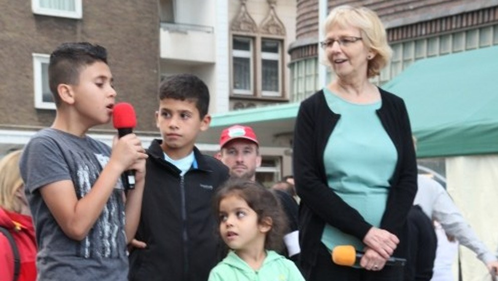 Wie hier in Gelsenkirchen kommen die Kinder auch selbst zu Wort (rf-foto)