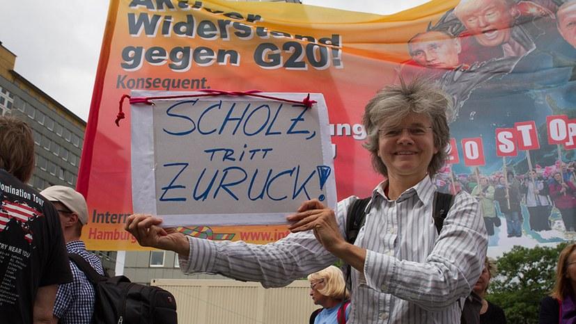 Schluss mit der Kriminalisierung der G20-Proteste!