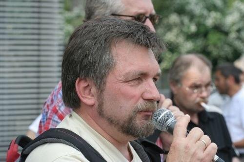 Ulrich Schirmer (Foto: Arbeiterfotografie, Thomas Trueten)