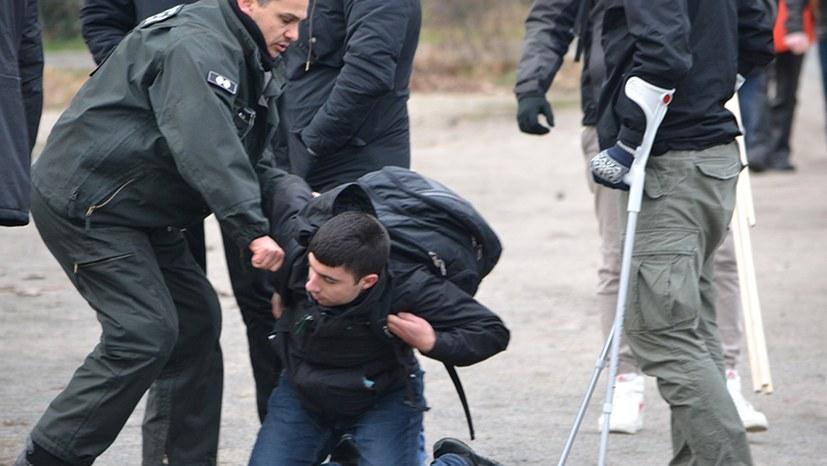 Polizeiübergriffe gegen LLL-Demonstranten