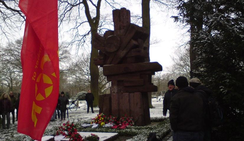 Gedenken an die Niederschlagung der Bremer Räterepublik