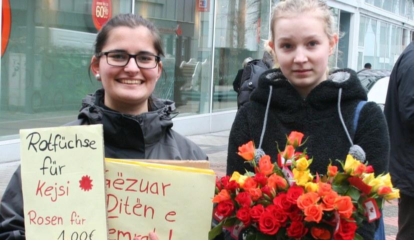 Weltweit Aktionen der kämpferischen Frauenbewegung