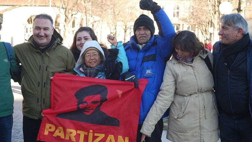 Solidarität gegen Polizeiwillkür