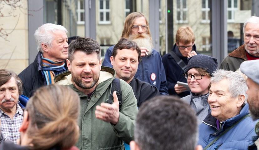 Erfolg der Solidarität mit Andreas Gärtner in seinem Prozess