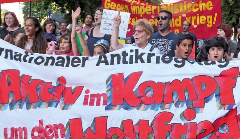 Stoppt alle imperialistischen Kriegsbrandstifter! Hände weg von Efrîn! Für Freiheit, Frieden - echten Sozialismus!