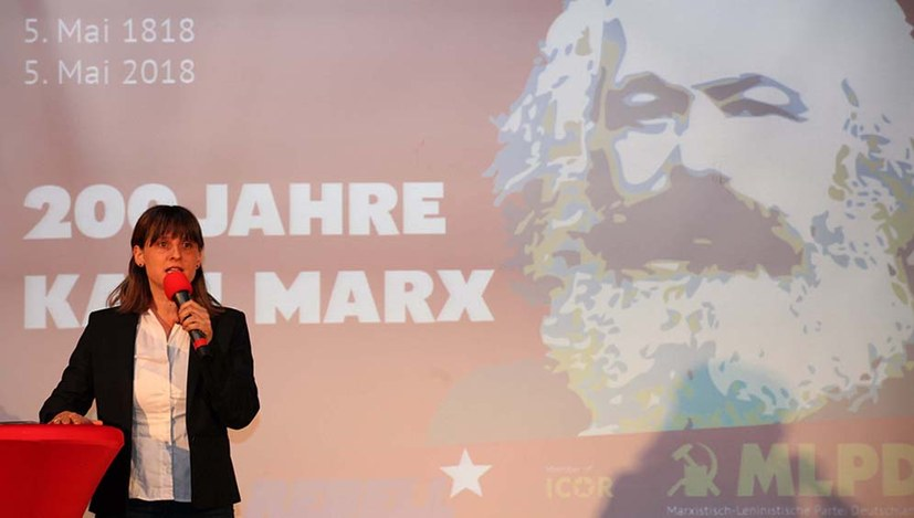 """""""Wir würdigen Marx vor allem in Bezug auf die Zukunft der Menschheit"""""""