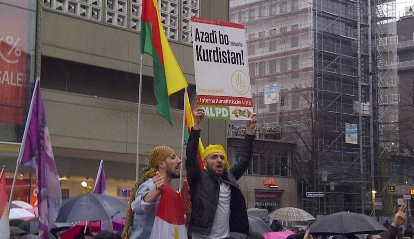 Rojava kann ein freies Gebiet der Völker, Arbeiter und Revolutionäre werden