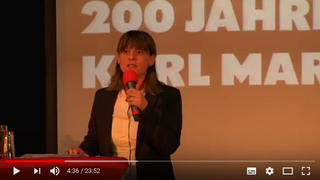 Rede bei der Feier zu 200 Jahre Karl Marx in Gelsenkirchen