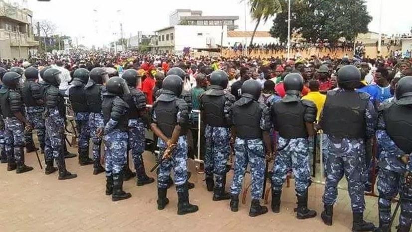 Aufruf togolesischer Flüchtlinge an die Demokraten in Deutschland