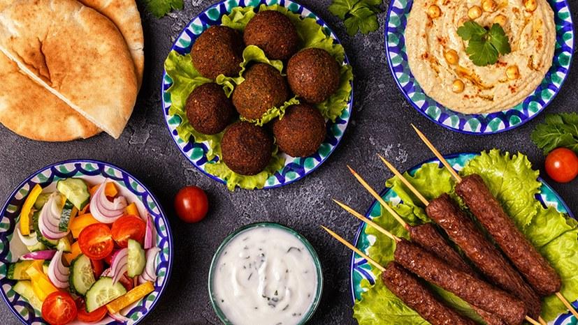 Ramadan-Essen und internationale Speisen