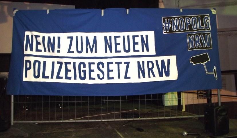 """""""Nein zum Polizeigesetz NRW"""" - Demo am 7. Juli"""