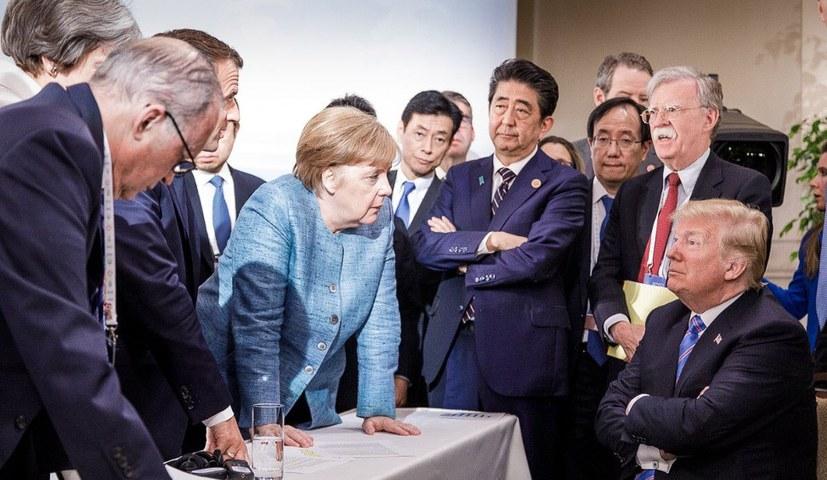 G7-Gipfel endet in offener Krise