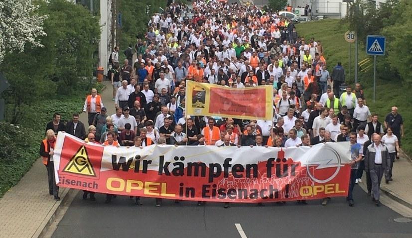 """""""Weder 'Zukunftssicherung' noch 'Kündigungsschutz' - Die Eckpunkte sind Verrat an unserem Kampf!"""""""