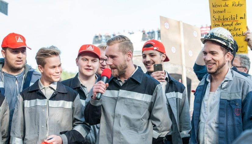 Klares Zeichen gegen Arbeitsplatzvernichtung bei ThyssenKrupp