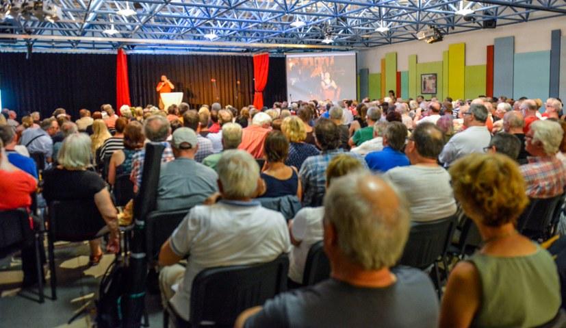 Kultursaal wird zum Politikum