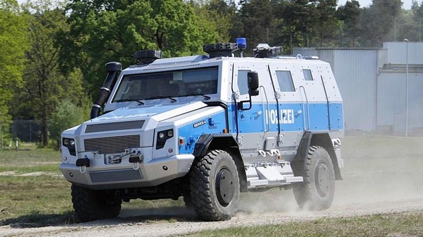 Bundesweite Militarisierung der Polizei