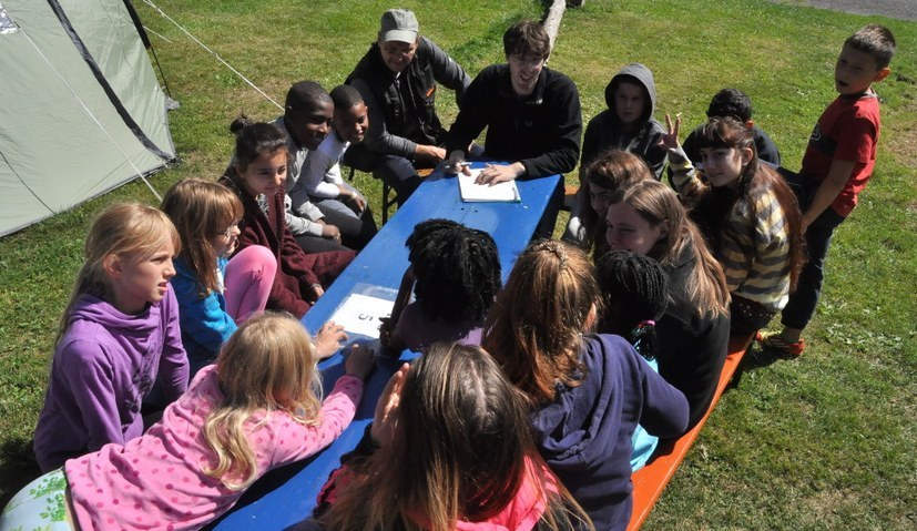 Sommercamp startet in Kürze - solidarisch, für Frieden, international, selbstorganisiert