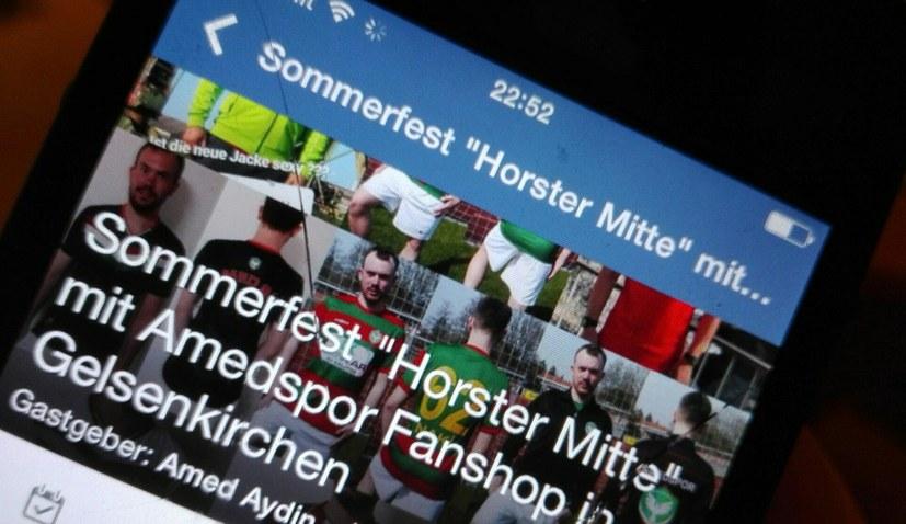 Amedspor Fanshop auf dem Sommerfest der Horster Mitte