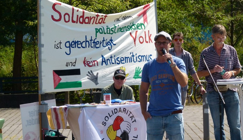 Solidaritätskundgebung des Internationalistischen Bündnisses