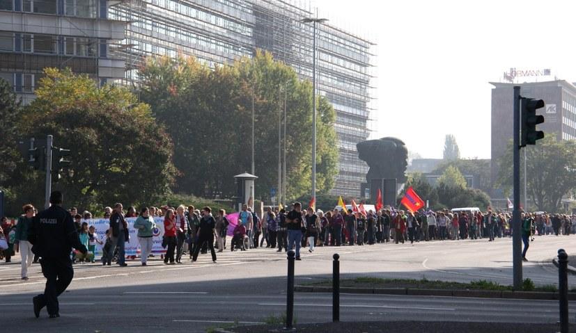 Vor vier Jahren: Solidaritätsdemonstration für Kobanê
