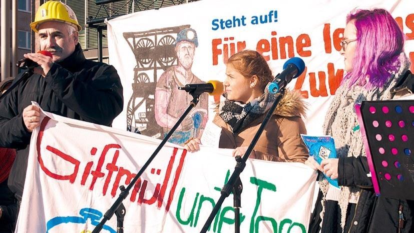 Demo am 17. September gegen Zechenschließungen und Zechenflutung