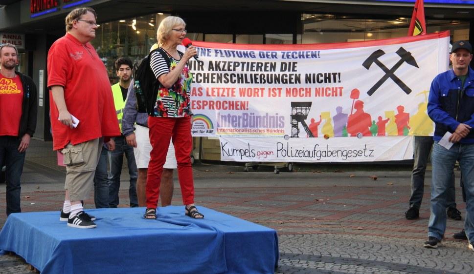 Thomas Kistermann und Monika Gärtner-Engel bei ihrer Moderation