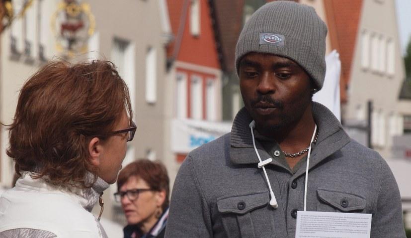 Gegen die AfD – Solidarität mit Alassa Mfouapon lebt