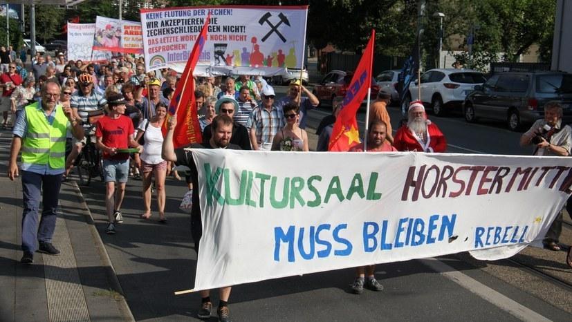 Stadt will Ausnahmeregelung für große Bergarbeiter-Veranstaltung am 6. Oktober verweigern