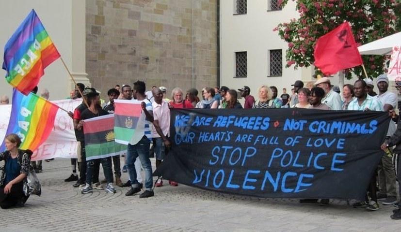 Amnesty International berichtet über den Polizeieinsatz von Ellwangen