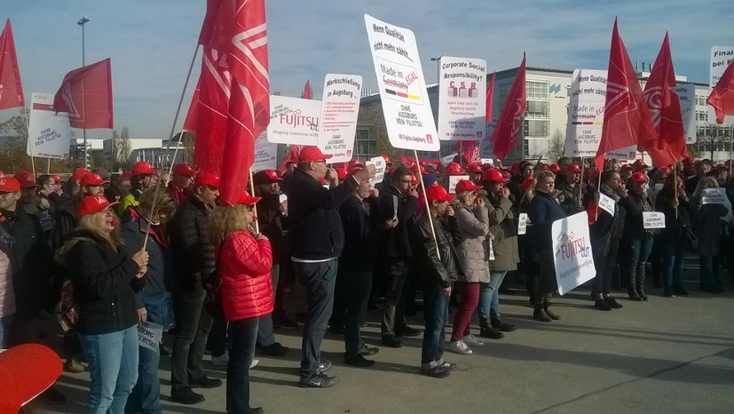 Geplante Schließung von Fujitsu - Kampf um jeden Arbeitsplatz – aber wie?
