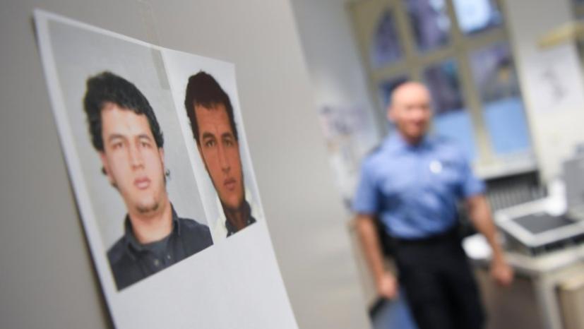 Fahndungsfoto von IS-Terrorist Anis Amri auf Polizeiwache - Maaßen hat bis zuletzt vertuscht, dass V-Leute des