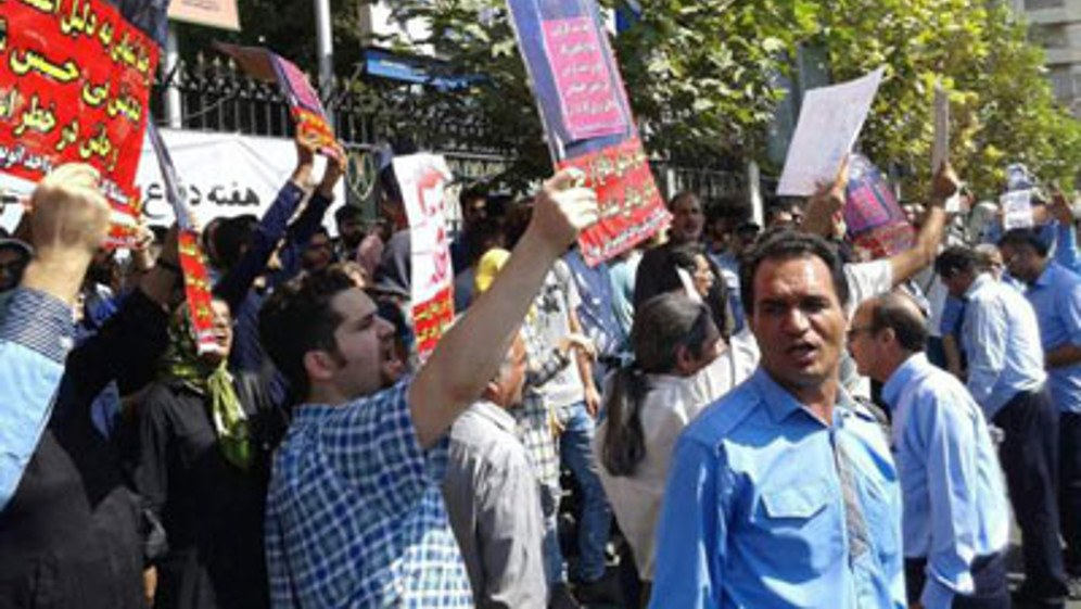 Die Massen haben genug und protestieren (Foto: CPI)