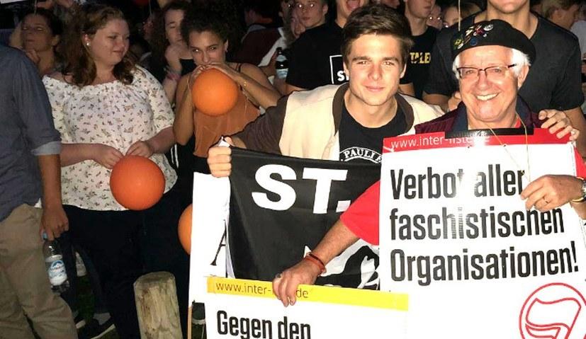 Über 6.000 Antifaschistinnen und Antifaschisten gegen Neofaschisten