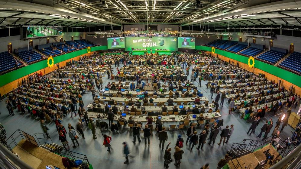 Früherer Grünen-Parteitag in Hamburg (Foto: Niklas Tschöpe)