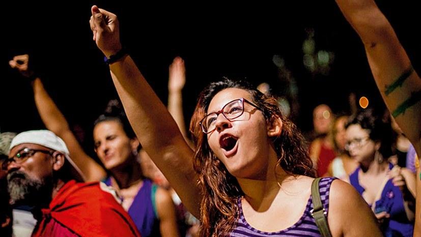 """Massenproteste: """"Wir sind weder Vandalen noch Terroristen"""""""