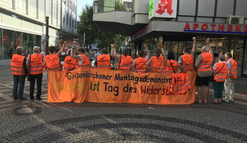 Solidarität mit der Gelbwesten-Bewegung in Frankreich!