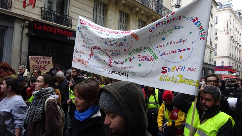 """8. Dezember - Umweltkampftag im Zeichen der """"Gelben-Westen""""-Bewegung"""
