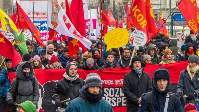 Großveranstaltung 100 Jahre Novemberrevolution – 50 Jahre Parteiaufbau