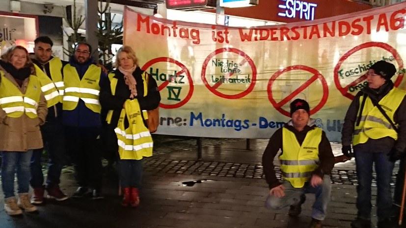 """Montagsdemo solidarisch mit """"Gelbwesten"""""""