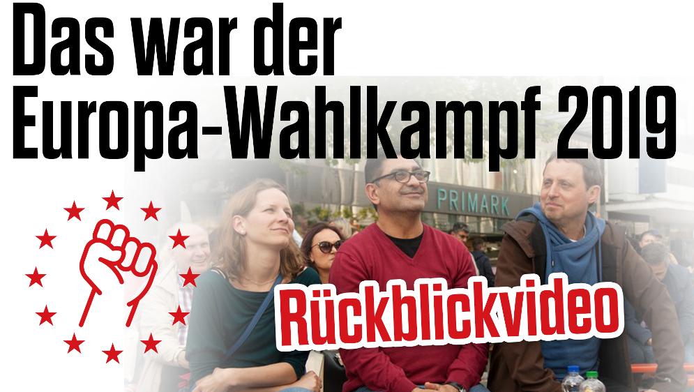 """""""Best of"""" des Wahlkampfs der Internationalistischen Liste / MLPD"""