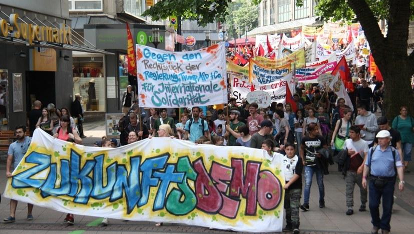 Aufruf zur bundesweiten Zukunftsdemonstration
