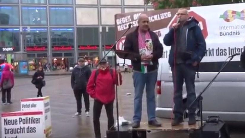 """""""Solidarität mit allen Befreiungskämpfen! Freiheit für Palästina!"""" in Berlin"""